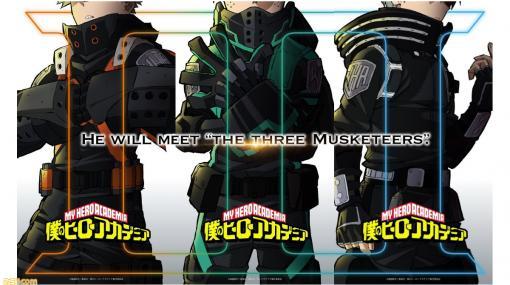 """『ヒロアカ』映画第3弾か? 3つの公式Twitterが謎のメッセージを投稿【HE WILL MEET """"THE THREE MUSKETEERS"""".】"""
