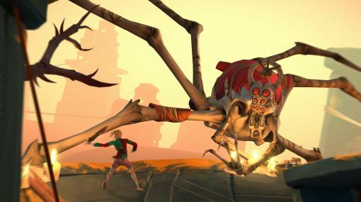 「Gods Will Fall」の2021年1月29日リリースをアナウンスするトレイラーが公開。スキルの異なる8人の戦士が邪神たちに挑むアクションADV