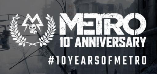 「メトロ」シリーズ10周年を祝う記念トレイラーが公開。開発元の4A Gamesはシリーズ新作も示唆