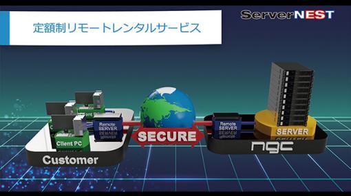 定額制のリモートレンタルサーバー・サービス「ServerNEST」提供開始、期間限定の半額キャンペーン実施中(エヌジーシー) - ニュース