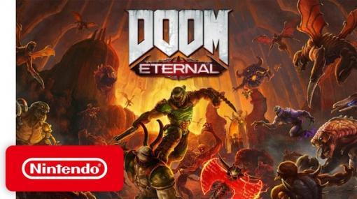 『DOOM Eternal』スイッチ版が海外向けに12月8日ダウンロード発売決定!