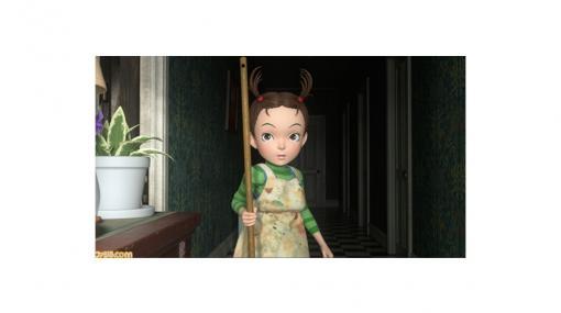 『アーヤと魔女』NHK総合テレビで12月30日19時30分から放送されるスタジオジブリ初の全編3DCG長編アニメのPVが公開