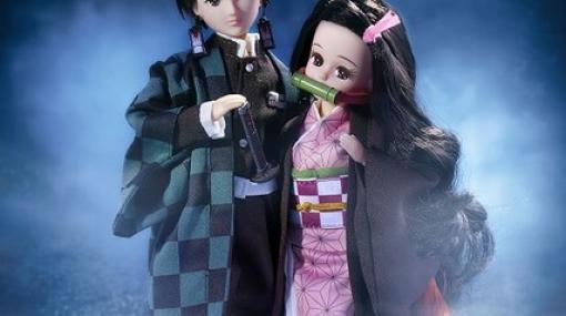 """禰󠄀豆子がリカちゃんに!? 『鬼滅の刃』と着せ替え人形""""リカちゃん""""がコラボ"""