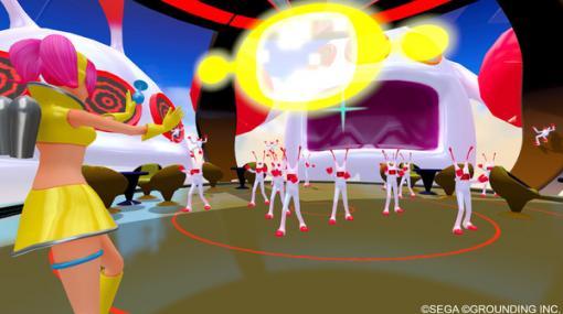 スペチャン世界をVRで全身体感!『スペースチャンネル5 VR あらかた★ダンシングショー』Steam版配信開始