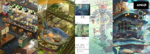 身近なところからファンタジー世界を創造するーコンセプトアーティストYuuri氏の思考プロセスを、作例をもとに解説【AMD セッション】 - 特集