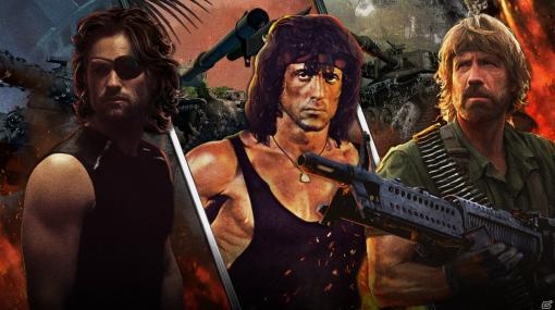 「World of Tanks Console」にランボーとスネーク、ブラドックが参戦!80年代を代表するアクション映画界のヒーローが集結