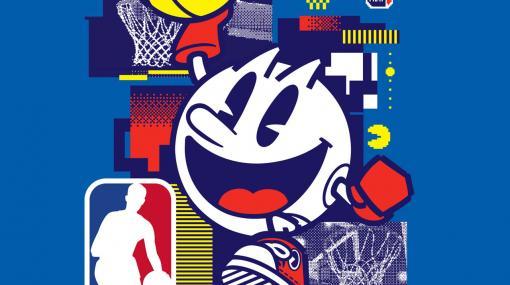 「パックマン」が北米男子プロバスケットボールリーグNBAとパートナーシップを締結