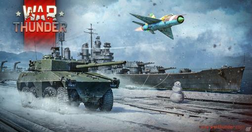 「War Thunder」で装輪戦車「E.B.R.75」などが報酬のイベント「W.I.N.T.E.R.」が開催!