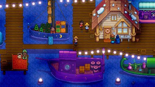 スローライフ農業ゲーム『Stardew Valley』のバージョン1.5は「海辺の農場」が選択可能に。釣りが楽しめるだけでなく、波打ち際にアイテムが打ち上げられる