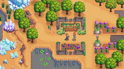 宇宙惑星が舞台のスペース農業ゲーム『One Lonely Outpost』開発中。ロボット牛や遺伝子改造した植物でハイテク農業を楽しもう